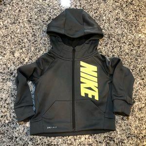 Boys Nike Dri Fit Full Zip Hoodie - 2T